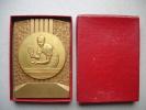 Ancienne Médaille En Bronze . Tennis De Table . Ping-Pong . Old Medal . Championnat De Basse Normandie 1973 - Tennis De Table