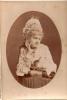 Portrait romantique  de jeune femme/ Type slave / Russe ?Polonaise? /1890-1900?    PH41