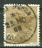 GRANDE BRETAGNE - N° YT 821 Oblit - 1952-.... (Elizabeth II)