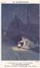 20225 Publicité Image 9x14cm Saxoleine, Pétrole . Planche 4 Enfant Rail Lanterne