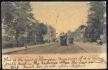 POSTCARD STREATHAM HILL LONDON TRAM BUS 1904 POSTMARK WOODSTOCK HAMILTON CANADA - London Suburbs