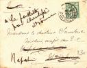 NOUVELLE CALEDONIE - 1911 - ENVELOPPE  De NOUMEA  Pour HAÏPHONG (INDOCHINE) REEXPEDIEE (RAPATRIE) - Briefe U. Dokumente