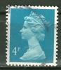 GRANDE BRETAGNE - N° YT 1016 Oblit - 1952-.... (Elizabeth II)