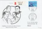 L-CH234 - SUISSE CONFERENCE DES MINISTRES DES AFFAIRES ETRANGERES 1959 FDC Recommandé - Lettres & Documents