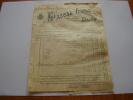 1902 : Facture & Mandat : Grands Vins De Bourgogne ; PASCAL Frères à Dijon - Agriculture