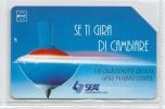 SCHEDA TELEFONICA  -  Telecom  Da  £. 10.000  -  Validità  Anno  1996  -  Pubblicità Seat. - Advertising
