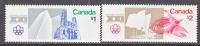 Canada 687-8  **  OLYMPICS - 1952-.... Reign Of Elizabeth II