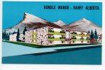 Ref 58 Cpsm CANADA Rundle Manor Banff Alberta - Banff