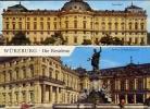 Wurzburg - Die  Residenz - Viaggiata - Formato Grande - Wuerzburg