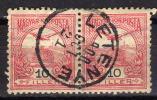 UNGARN 1900 - MiNr: 60A  Paar  Used - Oblitérés
