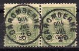 UNGARN 1900 - MiNr: 66A  Paar  Used - Oblitérés