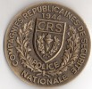 COMPAGNIES RÉPUBLICAINES DE SÉCURITÉ - POLICE NATIONALE - 1944 - C. R. S. - SERVIR - DRAGO - Professionali / Di Società