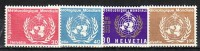 Schweiz  Nr.  OMM   10-13 **  (d9521 ) Siehe Scan - Servizio
