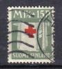 R615 - FINLANDIA 1930 , 1 1/2 + 15 P. N. 157 . CROCE ROSSA - Finlandia