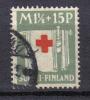 R616 - FINLANDIA 1930 , 1 1/2 + 15 P. N. 157 . CROCE ROSSA - Finlandia
