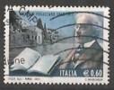 ITALIA REPUBBLICA ANTONIO FOGAZZARO € 0,60  2011 USATO - 2011-...: Usati