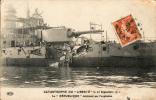Catastrophe Du ''Liberté'' Le 25 Septembre 1911. Le ''République'' Détérioré Par L'explosion - Guerra