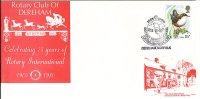 Cov343 GB 1980 - 75th Anniv Rotary International, Dareham, Norfolk - Unclassified