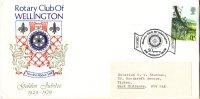 Cov340 GB 1979, Rotary Club Of Wellington, 50th Anniv - Unclassified