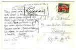 """"""" CANNES PPAL / ALPES MARITIMES / 18-12-1961 """" + """" LE SOLEIL VOUS ATTENDS  / CANNES """" - N° 682 - Oblitérations Mécaniques (flammes)"""