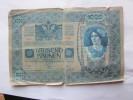 AUTRICHE -1000 KRONEN 1902- VOIR PHOTOS - [ 1] …-1871 : Estados Alemanes
