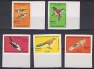 MAD 23 - MADAGASCAR N° 785/89 ND Neufs**  Oiseaux Divers - Madagascar (1960-...)