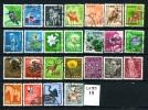 GIAPPONE - NIPPON - Blocco Di 25 Francobolli - Block  Of 25 Stamps -lotto 19° -usati - Used- - Japon