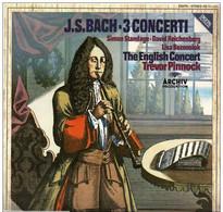 * LP *  THE ENGLISH CONCERT - J.S.BACH - 3 CONCERTI (Germany, Digital Recording Ex-!!!) - Klassiekers