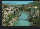 MOSTAR Postcard Bosnia Herzegovina - Bosnia And Herzegovina