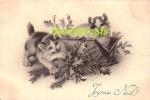 CPA ILLUSTRATEUR ART NOUVEAU M M VIENNE M MUNK CHAT PETIT CHATON ** ARTIST SIGNED M M VIENNE CAT LITTLE KITTENS - Vienne