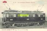 Locomotives Electriques, Machine E 3101 , Midi , Notes Techniques Au Verso, éd D. F. I.  E 19 - Matériel