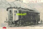Locomotives Electriques, Machine E 3202 , Midi , Notes Techniques Au Verso, éd D. F. I.  E 20 - Matériel