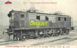 Locomotives Electriques, Machine E 3301 , Midi , Notes Techniques Au Verso, éd D. F. I.  E 21 - Matériel