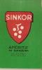 Bloc-notes Publicitaire/Liqueur/CLAC QUESIN/apéritif/SINKOR/ Vers 1945-1955              VP284 - Vieux Papiers