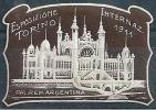 """Vignette  """"Torino - Esposizione Internazionale""""           1911 - Cinderellas"""