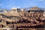 Athen - Blick Auf Die Acropolis - Viaggiata - Formato Grande - Grecia