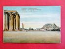 Europe > Greece Athenes Temple Of Olympian Jove Ca 1910    ===   =ref 415 - Grèce