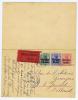 Belgium: Postkarte/ Réponse,Mit Zusatzfrankatur, 1915 Antwerpen -> Gemert Nederland, Eilboten, P13 68 Mm Sensuur Stem