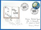 Bureau Temporaire - 83 TOULON (449) 5éme Fête Du Livre Du Var - 10 11 2001 - Storia Postale