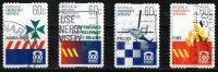 Australia 2010 Emergency Services 60c Set Of 4 Self-adhesives Used - - 2010-... Elizabeth II