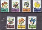 GRENADE :papillons : Y&T : O : 625 à 631 - Grenada (1974-...)