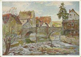 AK Haus Der Deutschen Kunst M. Müller Aus Schwaben Color ~1940 #172 - Illustrators & Photographers