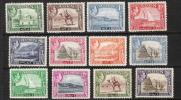 Aden 1939 Geroges VI N°16 à 27 (sauf N°20) N** Cote 50€ - Aden (1854-1963)