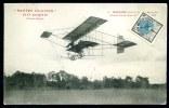CPA. NANTES AVIATION. 14-21 Août 1910. MARTINET Courant Le Prix De La Plus Grande Durée Sans Escale 18 Août 1910. - Reuniones