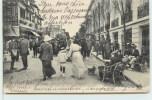 DEAUVILLE-LA-PLAGE-FLEURIE  -  La Rue Gontaut-biron. (carte Vendue En L'état). - Deauville