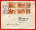 """PARAGUAY VARIETE BARRES ABSENTES SUR LE \""""5\"""" SUR LETTRE RECOMMANDEE DU 04/07/1959 DE ASUNCION POUR BUENOS AIRES COVER - Paraguay"""