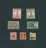 Lotto Di N. 7   FRANCOBOLLI   USATI  -  COLOMBIA   -  Anno 1954 / 1957. - Colombie