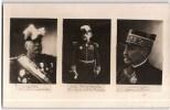 CARTE PHOTO : GENERAL JOFFRE AMIRAL BOUE LAPEYRERE ET LE GENERAL MICHEL PERSONNAGE MILITAIRE GUERRE - Characters