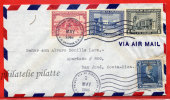 SALVADOR LETTRE DU 01/05/1946 DE SAN SALVADOR POUR SAN JOSE COSTA RICA COVER - Salvador