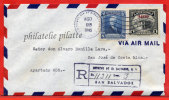 SALVADOR LETTRE RECOMMANDEE DU 23/08/1945 DE SAN SALVADOR POUR SAN JOSE COSTA RICA COVER - Salvador